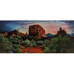 Red Rock Sedona Vista Painting